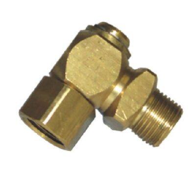"""90 Degree Brass Swivel 1/2""""M x 1/2""""F"""