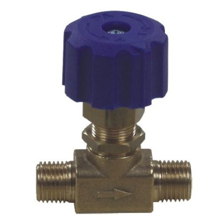 "Chemical Restrictor Valve 1/4""M x 1/4""M"