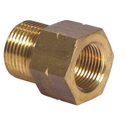 Brass MF Coupling with M15 Internal Bore