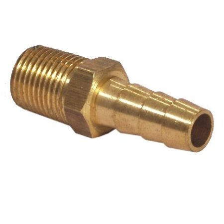 Brass Hose Tail with Male Thread