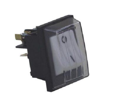 Rocker Switch, 2 Pole, 240V