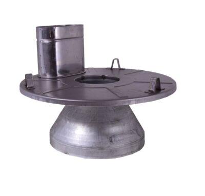 Lid & Chimney Assembly for Lavor Boilers