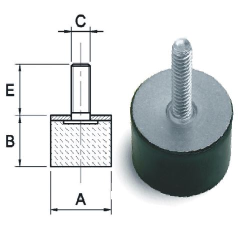 Anti-Vibration Mounting / Foot